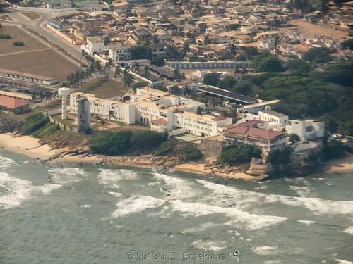 africa landscape ghana osu accra osucastle