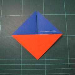 การพับกระดาษเป็นรูปเรือใบ (Origami Sail Boat) 004