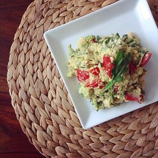 avocado-hüttenkäse-salat