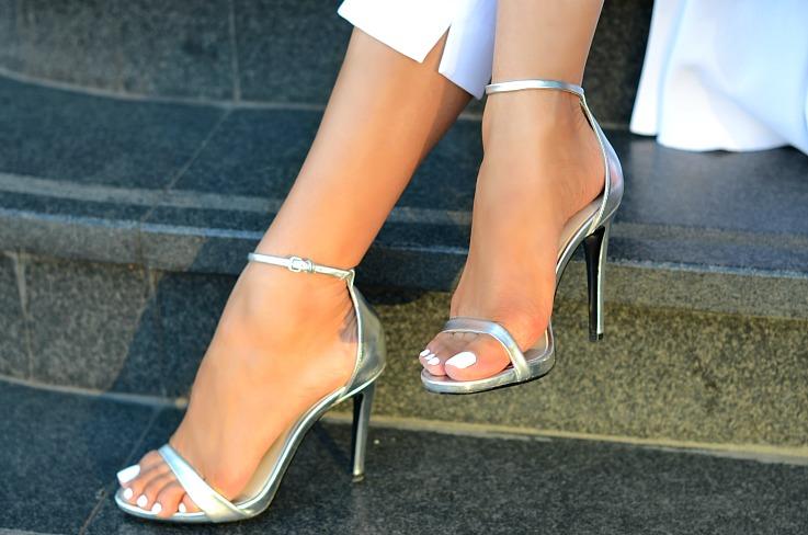 DSC_6729 Zara Silver Strapped heels