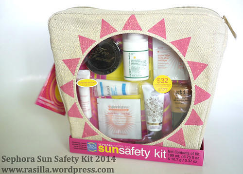 Sephora Sun SAfety Kit 2014