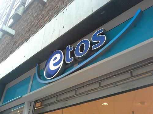 """Insegna """"Etos"""" ad Amsterdam"""