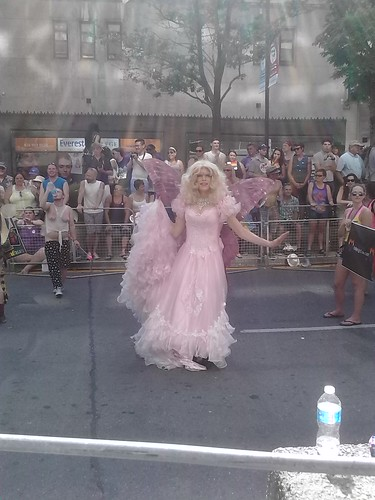 A lovely fairy queen on Yonge