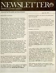 Newsletter, Arboreta & Botanic Gardens
