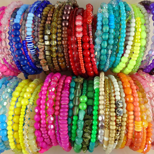 New Memory Wire Bangles