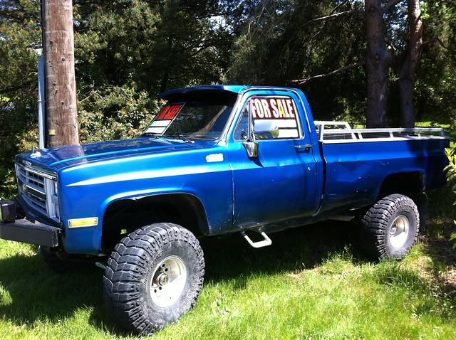 1986 Chevy K10  37 U0026quot  X