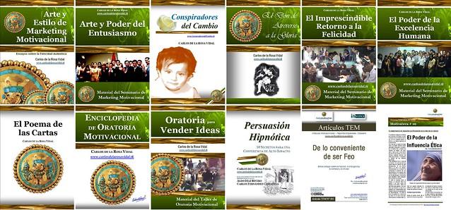Carlos De La Rosa Vidal: Libros