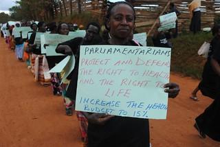 Health protester 2 KC Sharifah Nabukenya