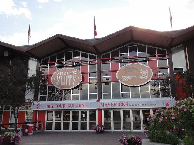 Calgary Stampede Setup 2011 Big Four Building South