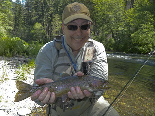 Paul McCloud dry fly Rainbow
