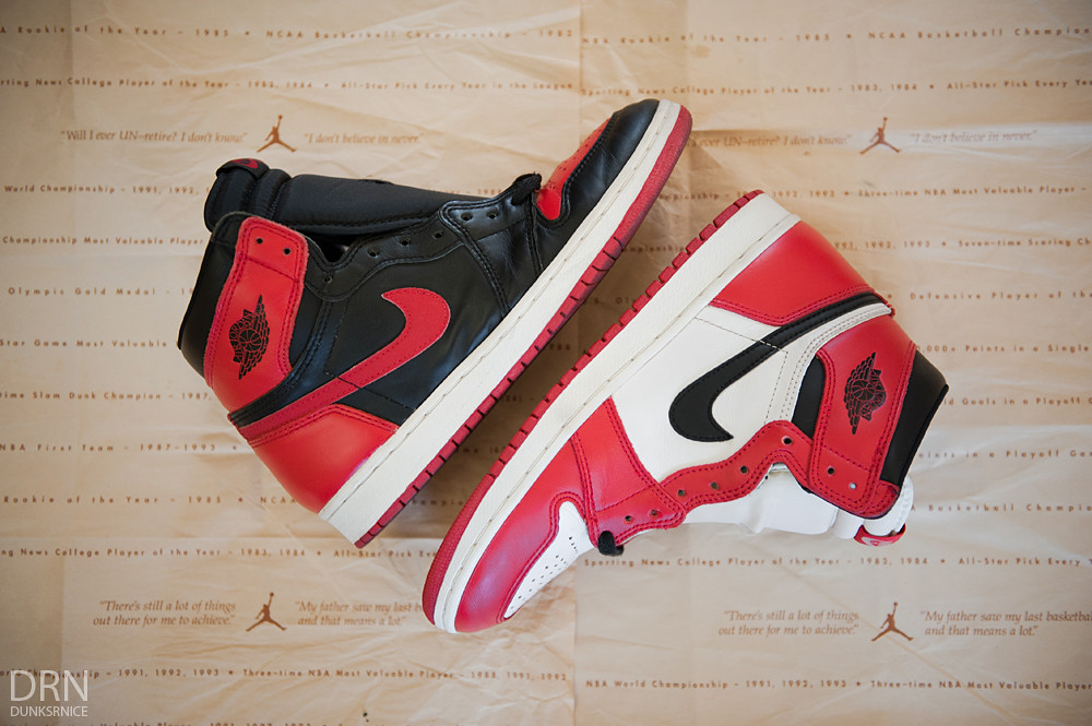 1994 Chicago & Black & Red I's.