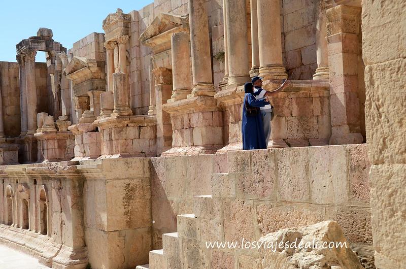 Selfie en Jerash