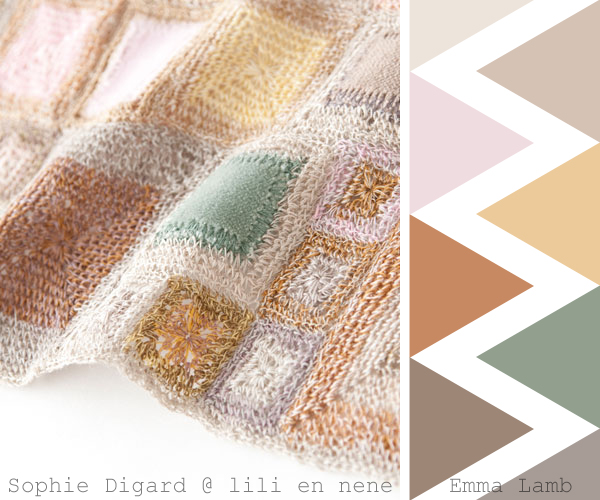 colour crochet crush overload : Sophie Digard at Lili et Nene   Emma Lamb