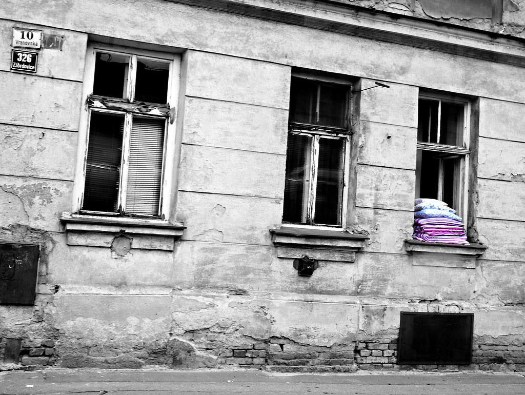 Old House on Vranovská Street