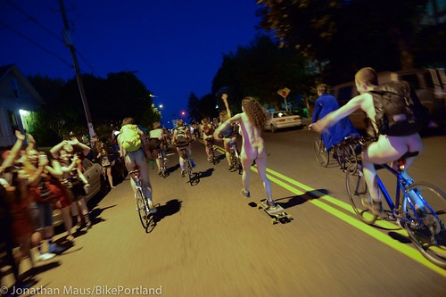 2014 World Naked Bike Ride -78