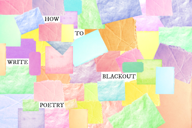 how to write blackout poetry vivatramp lifestyle creative blog uk jpeg