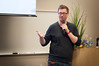 2016 WordCamp Chicago | John James Jacoby, Speaker (Photo by Kari Leigh Marucchi)