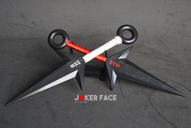 Kunai Đệ tứ nhựa 26cm (đỏ) - Naruto