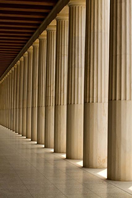 Modern doric columns flickr photo sharing for Doric columns