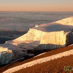 Sunrise and Glaciers - Mt. Kilimanjaro, Tanzania