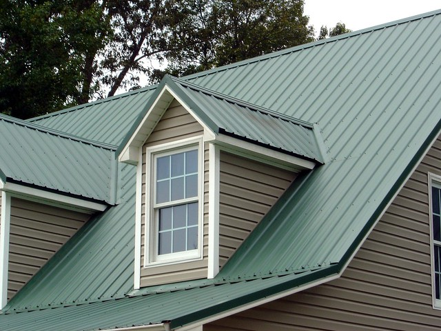 Photo - Roof colors for green houses ...