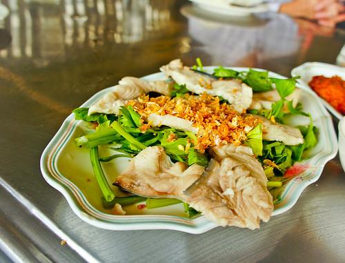 Thai's boiled fish ปลาต้ม