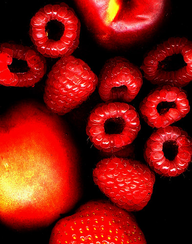 Mainly raspberries by ronmcbride66