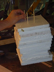 Automata prototype - laminated head