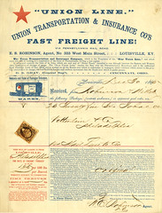 The Star Union Line Bill of lading