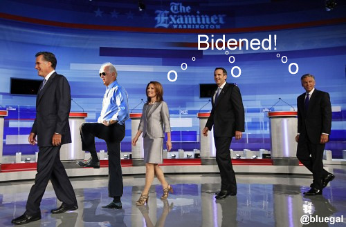 biden'd debate by @bluegal