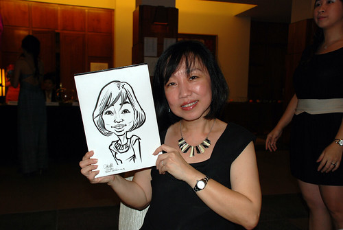 caricature live sketching for Rio Tinto Dinner & Dance - 5