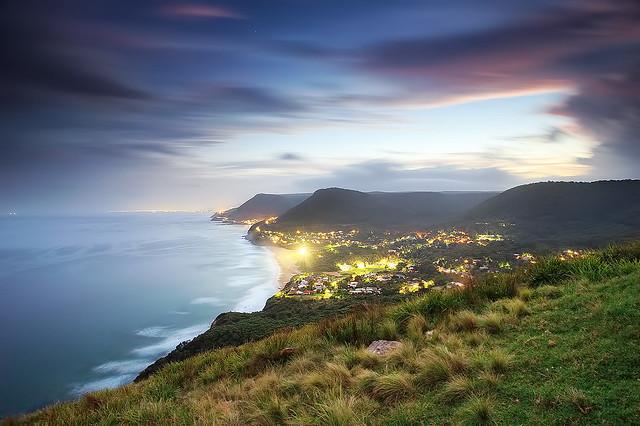 South Coast twilight