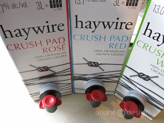 Haywire Crush Pad assortment
