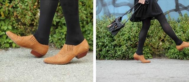 southwest shoe collage