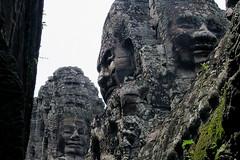 Bayon Temple - 3 Bayon Heads