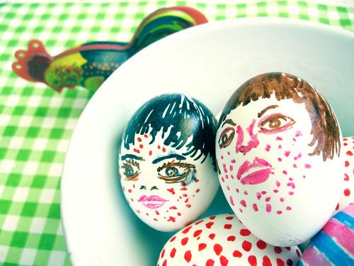 Spotface eggs