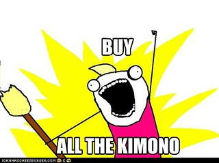 Buy ALL the kimono