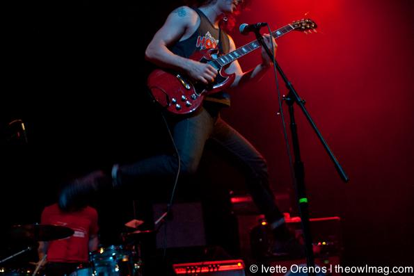 Turbo Fruits @ El Rey Theatre, LA 5/5/12