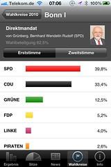 Wahl App NRW: Wahlkreis Bonn I