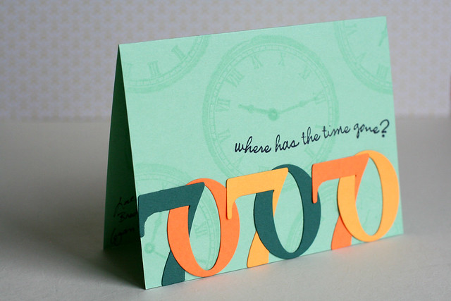 Male 70th Birthday Card for a Man