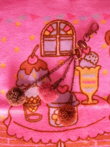 cute mori girl / dolly style keychain