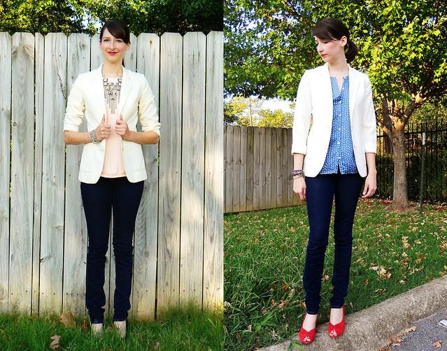cream blazer 1