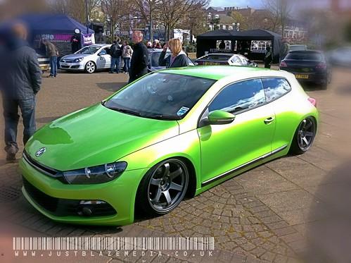 Stanced NI VW Sirocco by justblazemedia