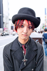 Gothic Guy in Harajuku
