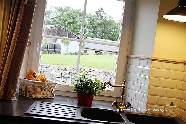 我在亞耳丁高地的廚房。The Chustnut-Ligneuville-120608