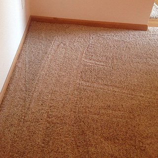 Hello new carpet ;)