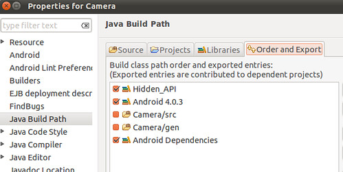 aosp-app-eclipse-order-and-export