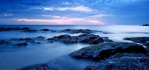 lynch beach tom america island photography rocks long exposure central honduras roatan pixbytommy