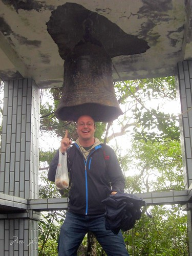 Dan with the old bell