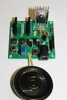 14- Solder LM7805 with heat sink